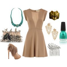 """""""Disney Pocahontas Inspired Outfit"""" by mamaspartydress on Polyvore"""