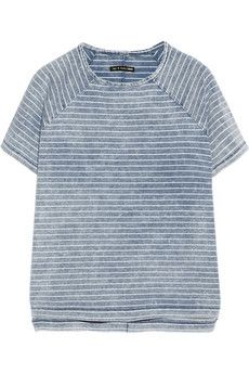 Rag & bone Camden striped cotton T-shirt | NET-A-PORTER