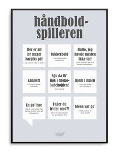 Danish Sayings plakat Words Quotes, Wise Words, Qoutes, Sayings, Wall Decor Quotes, Funny Signs, Danish, Haha, Funny Pictures