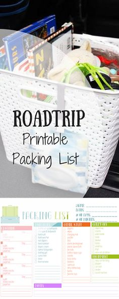 6 Essentials for your Road Trip + Printable | The View From Up Here