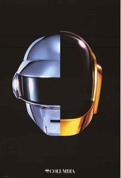 An awesome poster of the album cover from Daft Punk's epic LP Random Access…