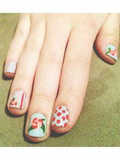 Roses, stripes & polka dots!