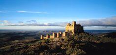 Castillo de Loarre (Huesca), escenario de películas como El reino de los cielos, de Ridley Scott.