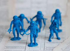 Spacemen - Miniature Cosmonaut Toys