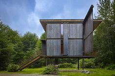 Sol Duc Cabin   Architect Magazine   Olson Kundig, Olympic Peninsula, WA, United States, Single Family, Other, Custom, Second Home, New Construction, Modern, 2014 AIA Housing Awards, Prefab, AIA - National Awards 2014, Residential Projects