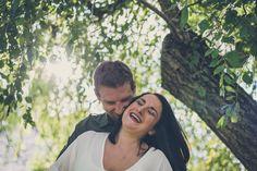 Cara and Rick's Engagement Shoot at Hartwood Acres