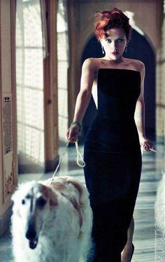 Scarlett Johansson by Mario Sorrenti for Vanity Fair December 2011