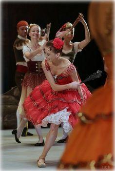 Ekaterina Krysanova as Kitri in Bolshoi's Don Quixote Credits to BEK studios