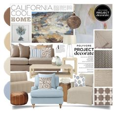 Project Decorate: California Cool With Flourish Design and Style Home Interior, Interior Decorating, Interior Design, Home Design, Living Room Designs, Living Room Decor, Beige Living Rooms, California Cool, Palette