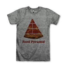 Food Pyramid Pizza by AwesomeBestFriendsTs on Etsy