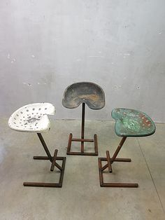 Tractor barkruk vintage, Industrial design Tractor seat bar stool stools