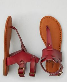 American Eagle Gladiator Thong Sandals