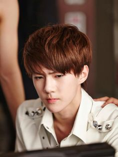 Handsome and cool maknae oh sehun