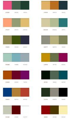 Modern Color Schemes Paradise Palms Some Mid Century