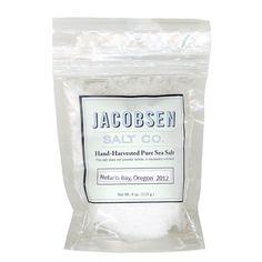 Hand-Harvested Pure Sea Salt: Jacobsen Salt Co