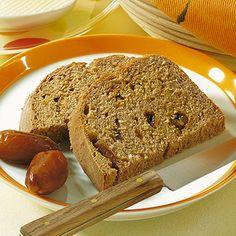 Dattelbrot mit Rosinen - Rezept für den Brotbackautomat