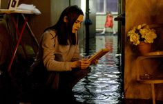 "DARK WATER (2005)  Dahlia: ""There's water everywhere! She can't be here!""   The 2002 Japanese chiller is expertly reworked into an American setting by Motorcycle Diaries director Walter Salles. Jennifer Connelly is the single mum fighting for her sanity against dark forces after moving into a creepy apartment building with her young daughter. Dark, sombre and totally terrifying, this could be the best American Jap horror remake yet. The next time you see a damp patch..."