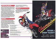https://flic.kr/p/qzLPFU | 1995 Honda CR Lineup Brochure