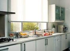Resultado de imagen de cortinas en las cocinas