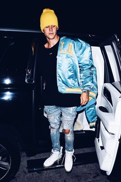 Justin Bieber outfit - Los Angeles 2017