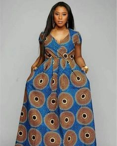 African maxi dress with pockets, African print dress,African clothing for women,Ankara dress,african Ankara Long Gown Styles, Latest African Fashion Dresses, African Dresses For Women, African Print Fashion, African Print Dresses, African Attire, African Women, Africa Fashion, Ankara Styles