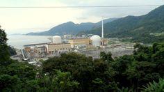 Usina nuclear Brasileira - Angra dos Reis  Brasil