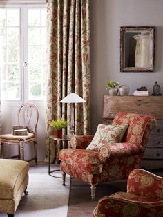 Sanderson fabrics: Available to order from Alexanders Design House.