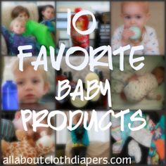 Autumn Beck's review of great baby products. I either have tried and love them-or now I want to try them!