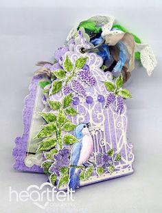 Mój mały świat: Inspiracja dla Heartfelt Creations Heartfelt Creations, Wisteria, Album, Floral, Cards, Inspiration, Ideas, Biblical Inspiration, Flowers