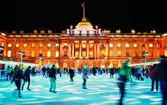 Somerset House ice rink in 2012 by LondonShots.co.uk