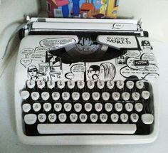 Ghost World Typewriter
