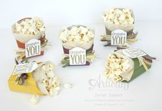 Create an adorable treat using the Merry Everything stamp set and the Fry Box Bigz L Die. ~ Sarah Sagert