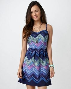 American Eagle Outfitters Tribal Print Dress