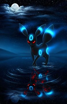 Absolutely my favourite pokemon💙. --- 「Anime: Pokemon Pokemon: Umbreon」 --- {Credit to artist} --- Pokemon Umbreon, Pokemon Go, Fan Art Pokemon, Eevee Evolutions, Banette Pokemon, Pikachu Art, Pokemon Charmander, Pokemon Tattoo, Pokemon Stuff