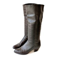 Riding Boots Black Leather, now featured on Fab.