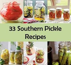 33 Southern Pickle Recipes