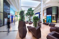 LECLERC RENNES SAINT GREGOIRE SAINT GREGOIRE - France Category: Shopping Centres Realization: 2012 Square Meters: 3500 Studio: LAMEYNARDIE / Nantes