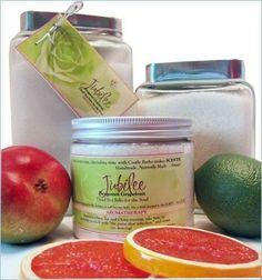 Castle Baths - 16 oz Jubilee Dead Sea Salts for the Soul Bath Salts - Bergamot Pink Grapefruit by CB Classic - Collection: Jubilee. $38.00. Helps relax your body, mind, and spirit with a warm bath. Dead Sea Salts soften skin without drying. Blended with the essential oil of sweet grapefruit. Jubilee Aromatherapy Benefits: Uplifting, Normalizing, Confidence, Energizing, Refreshing, Cheering. Handmade to order and shipped daily from Castle Baths. Infused with a sweet, organic citru...