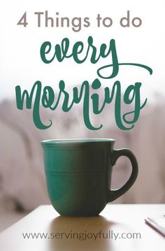 Yes, your morning matters! Use these 4 simple tips to get your day off to a great start!