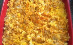 Chicken pumpkin casserole