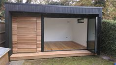 Home gym shed garden office 21 best Ideas Garden Office Shed, Backyard Office, Backyard Studio, Backyard Sheds, Garden Gym Ideas, Outdoor Office, Outdoor Rooms, Shed Design, Tiny House Design