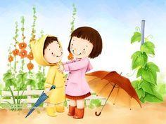 День детей корейские открытки, фото 1680x1050 - Фото обои на рабочий стол FindWall.RU