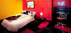 Mickey Mouse Penthouse Suite bedroom