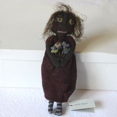 Sophie Digard doll 25 cm hand crocheted