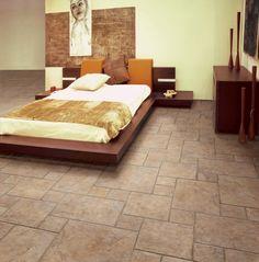 tile floors for the bedroom!