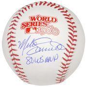 MLBShop.com - MLBShop.com Autographed Philadelphia Phillies Mike Schmidt Fanatics Authentic 1980 World Series Logo Baseball with 1980 WS MVP Inscription - AdoreWe.com