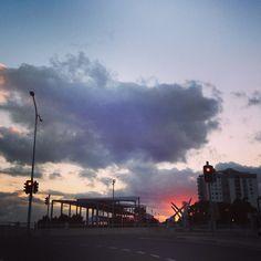 Bluewater Quay at sunrise
