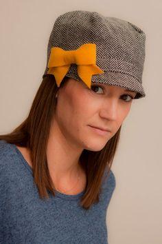 Jockey Style Women's Hat by ThisBigOakTree on Etsy, $25.00