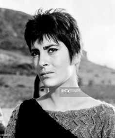 Portrait taken in 1961 shows Greek actress Irene Papas during the. Irene Papas, Best Director, Katharine Hepburn, Foreign Language, Moving Pictures, Beautiful Gorgeous, Cannes Film Festival, Ancient Greece, Best Actress