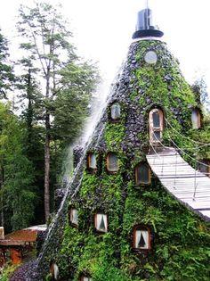 Montaña Mágica Lodge, Huilo Huilo, Chile